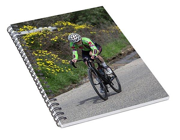 Timetrial 7 Spiral Notebook