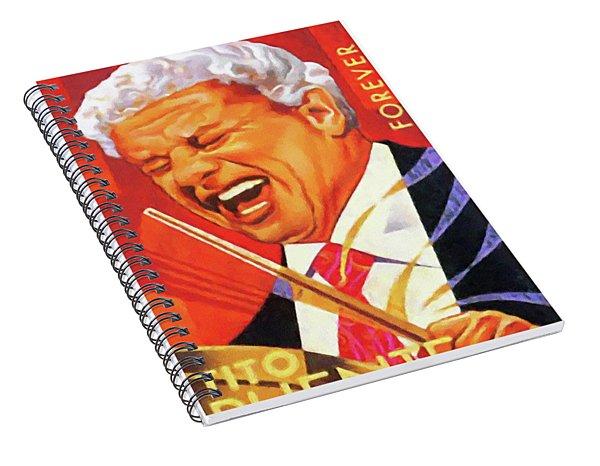 Tito Puente Spiral Notebook