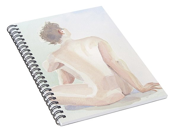 Tittande Uppat-looking Upwards  2,24 Mb_0055 Up To 51 X 76 Cm Spiral Notebook