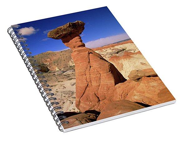 Toadstool Caprocks Utah Spiral Notebook