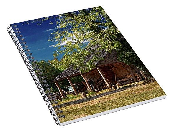 Tobacco Barn Spiral Notebook
