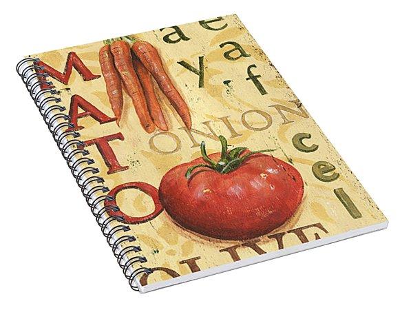 Tomato Soup Spiral Notebook