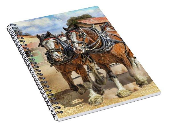Town Day Spiral Notebook