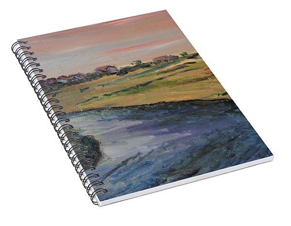Town Neck View Spiral Notebook