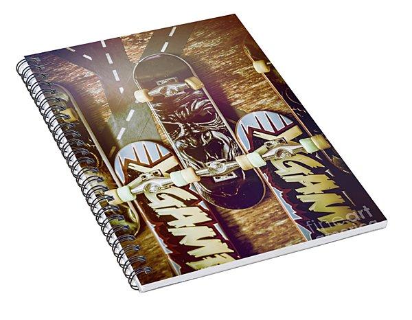 Toy Skateboards Spiral Notebook