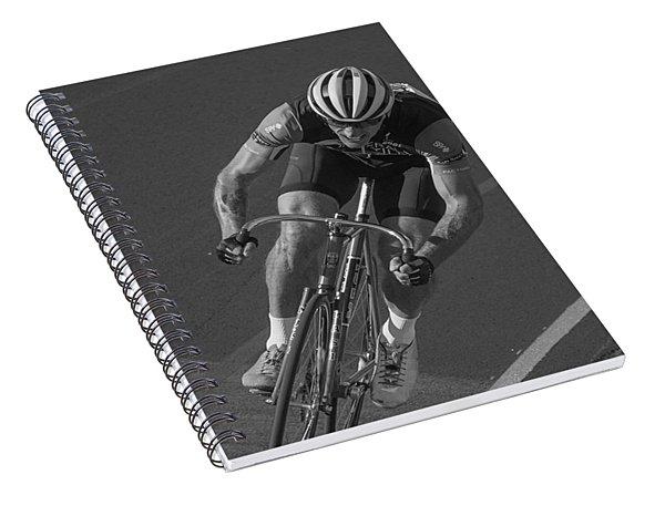 Track Spiral Notebook