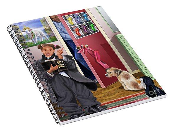 Train Up A Child Spiral Notebook