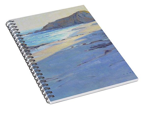 Tranquility Study / Laguna Beach Spiral Notebook