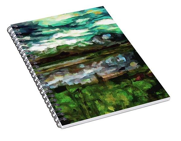 Tranquility Landscape Spiral Notebook