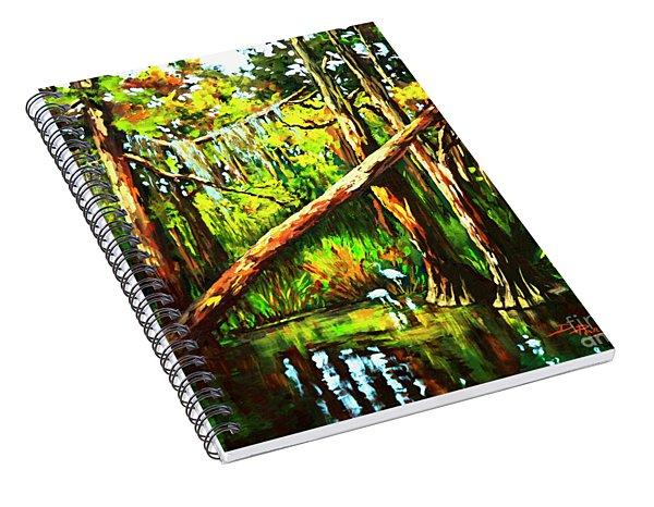 Tranquillity Spiral Notebook