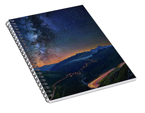 Transience And Eternity Spiral Notebook
