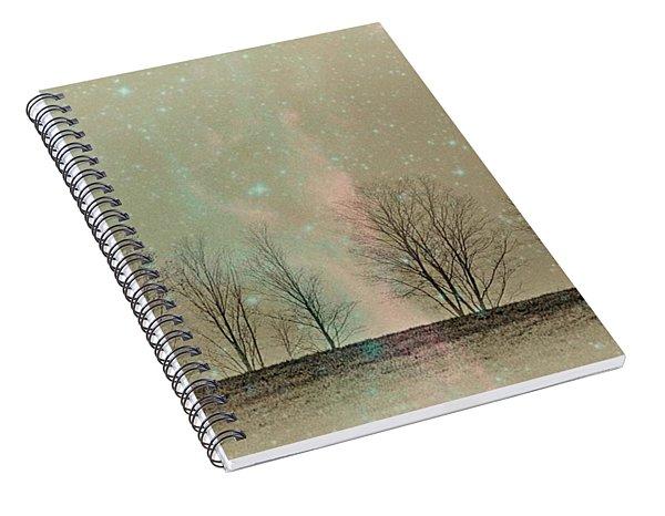 Tress In Starlight Spiral Notebook