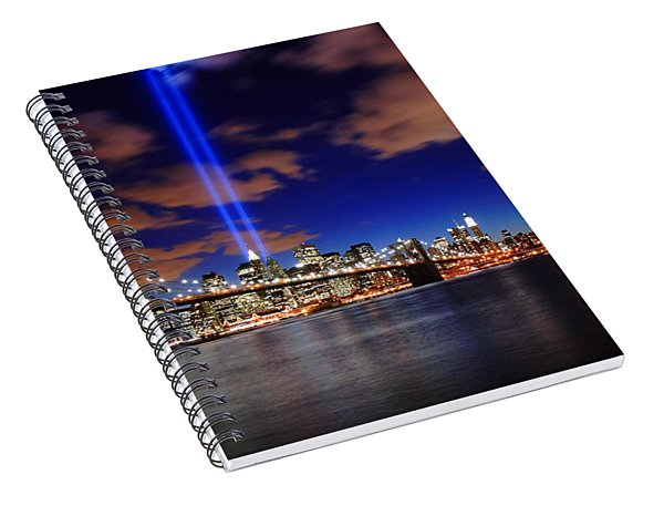 Tribute In Light Spiral Notebook
