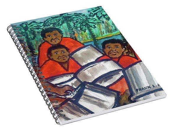 Trinidad Tobago Pan Band Spiral Notebook