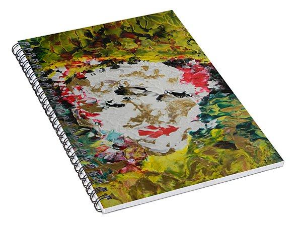 Trinity Panel Three Spiral Notebook
