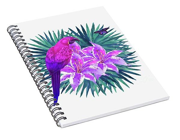Tropic Dreams Spiral Notebook
