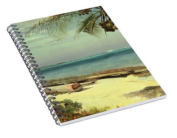 Tropical Coast Spiral Notebook
