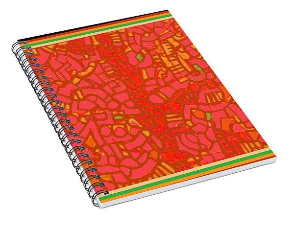 Tucson Wanderer Map Spiral Notebook