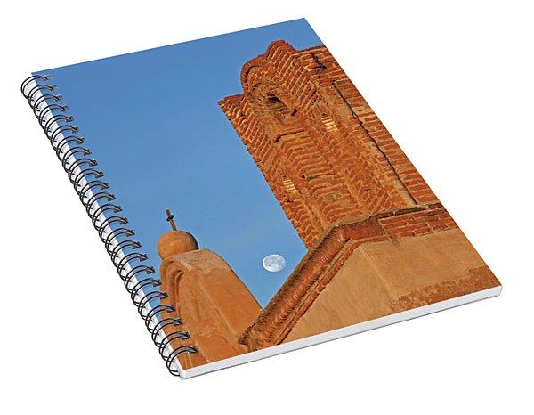 Tumacacori Sunrise Moon Spiral Notebook