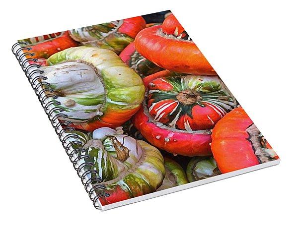Turks Turban Squash Spiral Notebook
