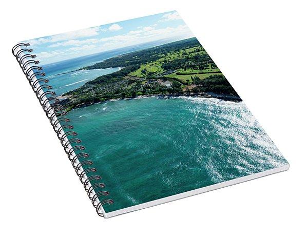 Turtle Bay Glow Spiral Notebook