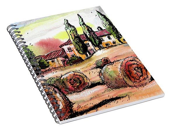 Tuscany Spiral Notebook