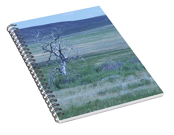 Twisted And Free Spiral Notebook