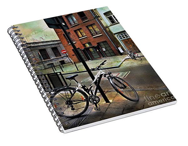 Two Bicycles Spiral Notebook