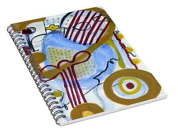 Ukulele Mele Spiral Notebook