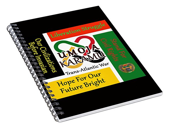 Umoja Feast Spiral Notebook