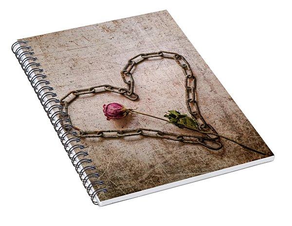 Unchain My Heart Spiral Notebook