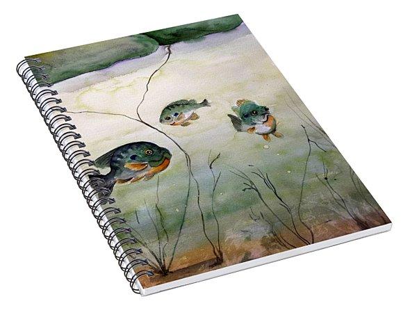 Under The Pads Spiral Notebook
