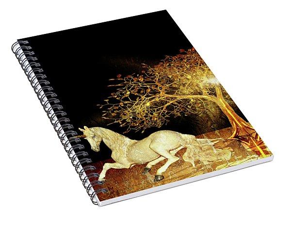 Unicorn Resting Series 1 Spiral Notebook