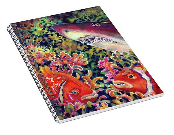 Uninvited Guest Spiral Notebook