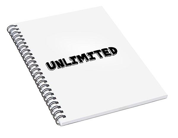 Unlimted Spiral Notebook