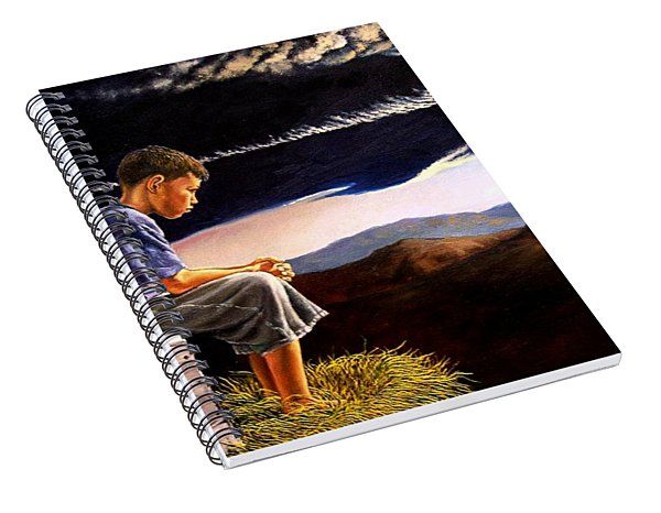 Unscarred Mountain Spiral Notebook