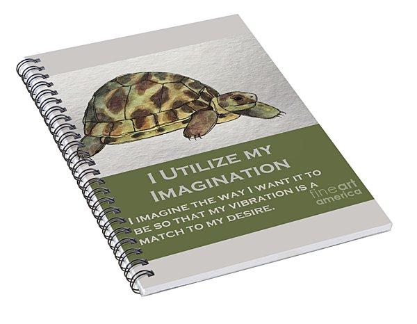 Uplifting Tortoise Spiral Notebook
