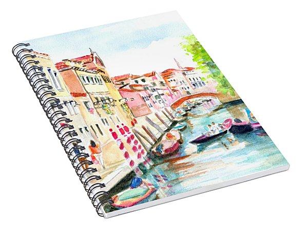 Venice Canal Boscolo Venezia Spiral Notebook