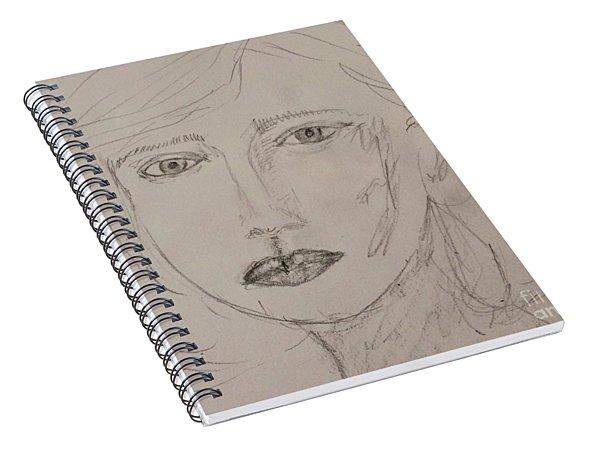 Vera In Pencil Spiral Notebook