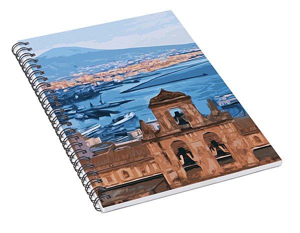 Vesuvio, Panorama From Naples Spiral Notebook