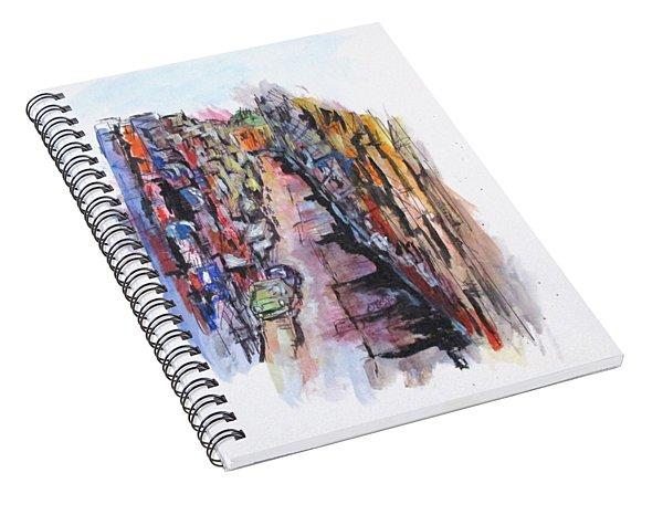 Vicolo De Napoli Spiral Notebook