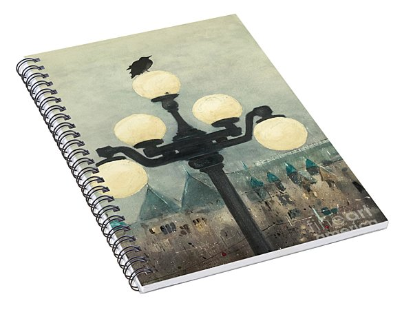 Victoria Evening Spiral Notebook