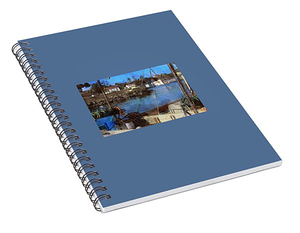 View Across The Bay Spiral Notebook