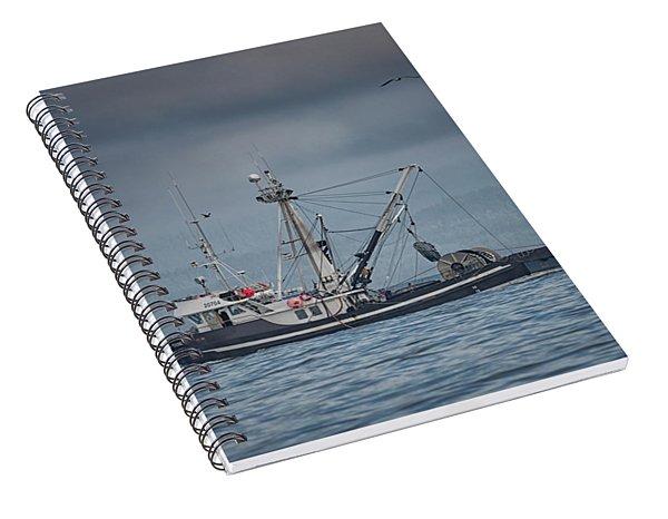 Viking Tide Spiral Notebook
