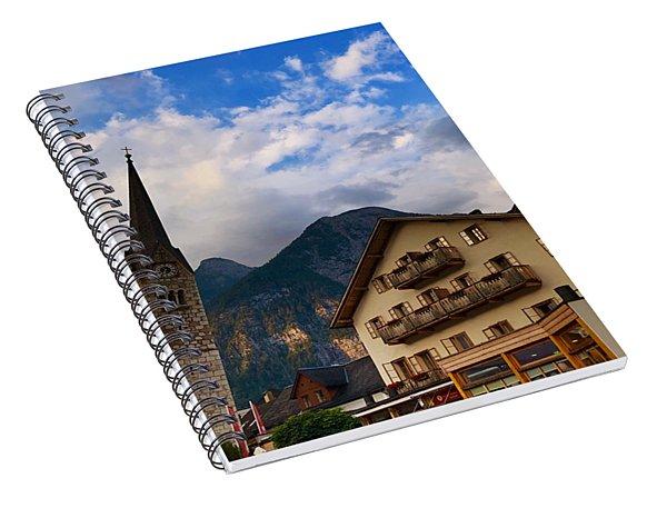 Village Hallstatt Spiral Notebook