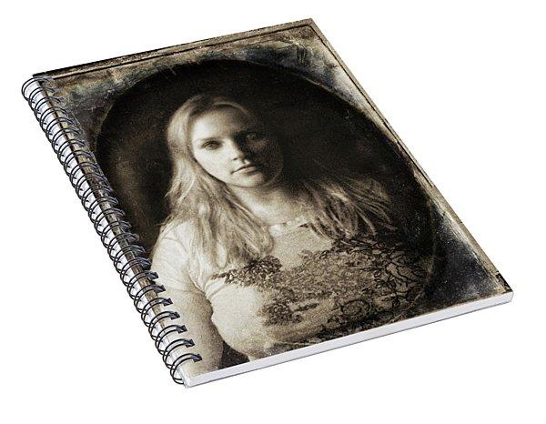 Vintage Tintype Ir Self-portrait Spiral Notebook