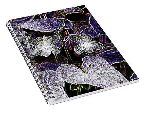 Violets B Spiral Notebook