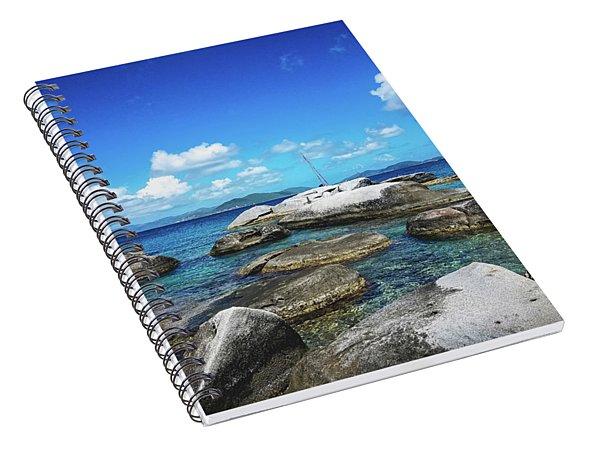 Virgin Gorda Catamarans Spiral Notebook