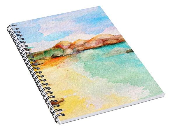 Virgin Rocks Spiral Notebook