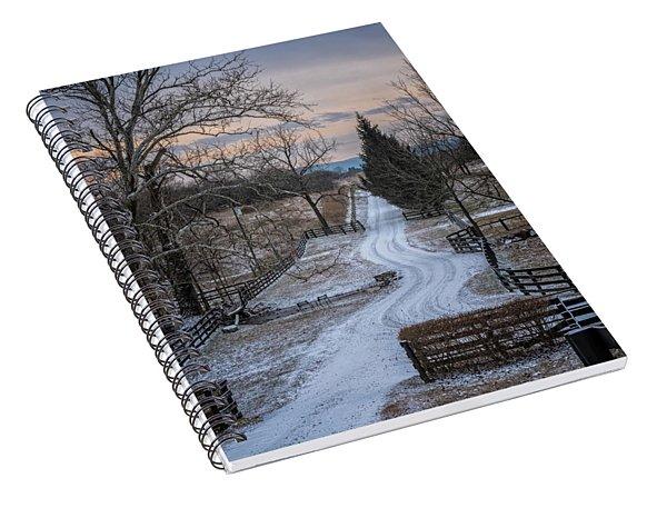 Virginia Country Lane II Spiral Notebook